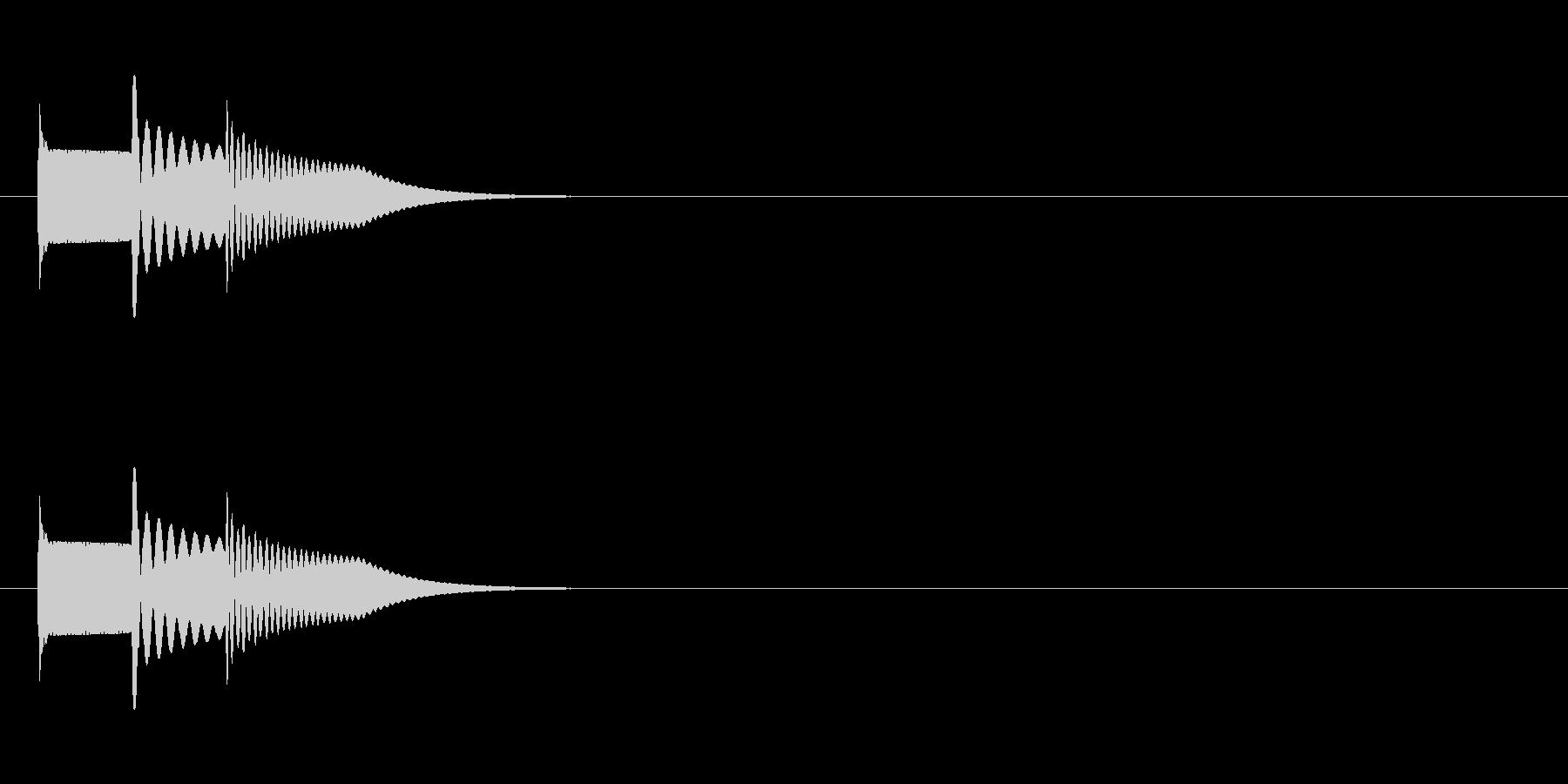 ピロロン↑の未再生の波形