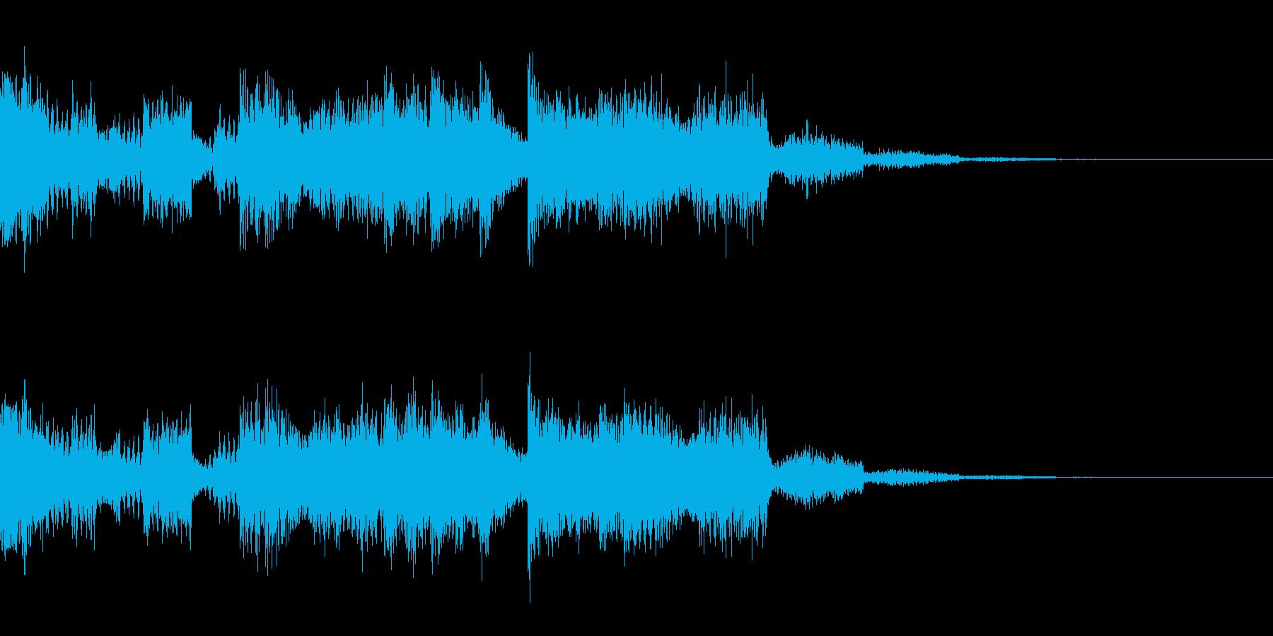 【ロゴ、ジングル】EDM05の再生済みの波形