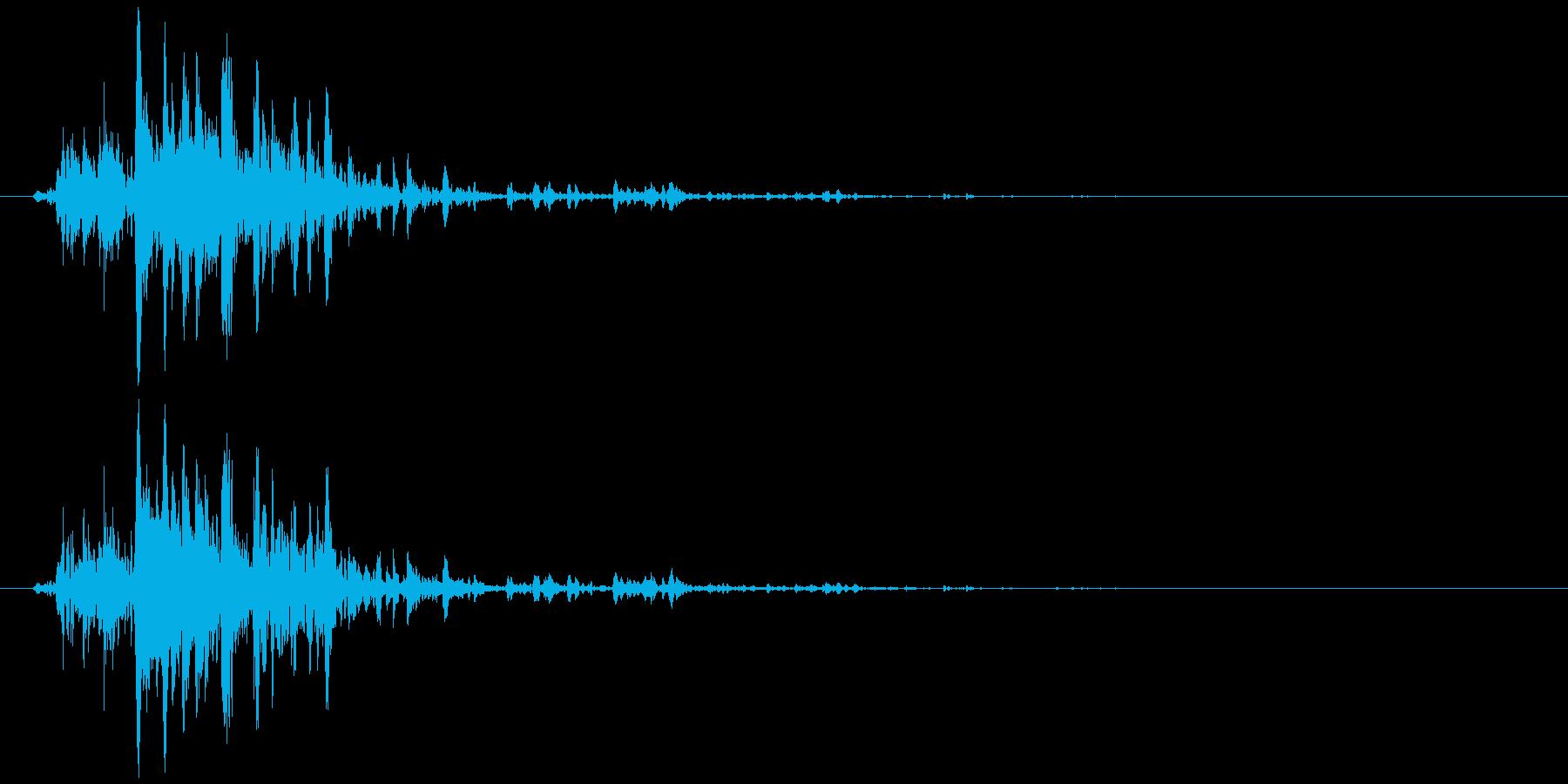 鈴の音 (高音)シャリッの再生済みの波形