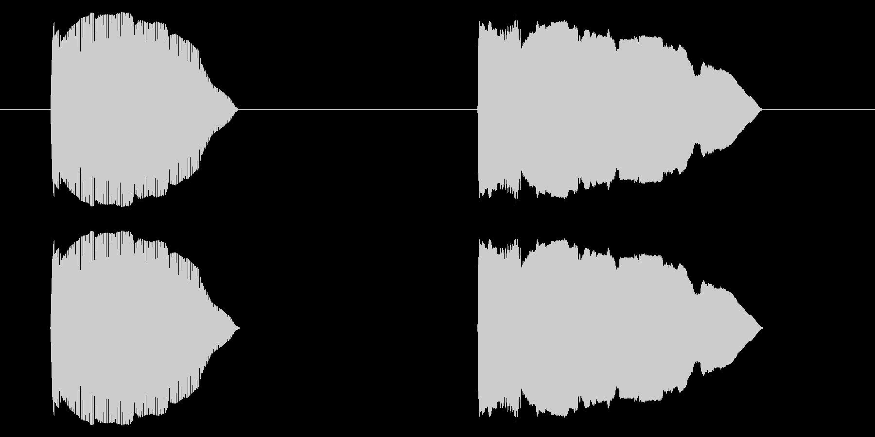 SNES レース01-11(カウントダウの未再生の波形