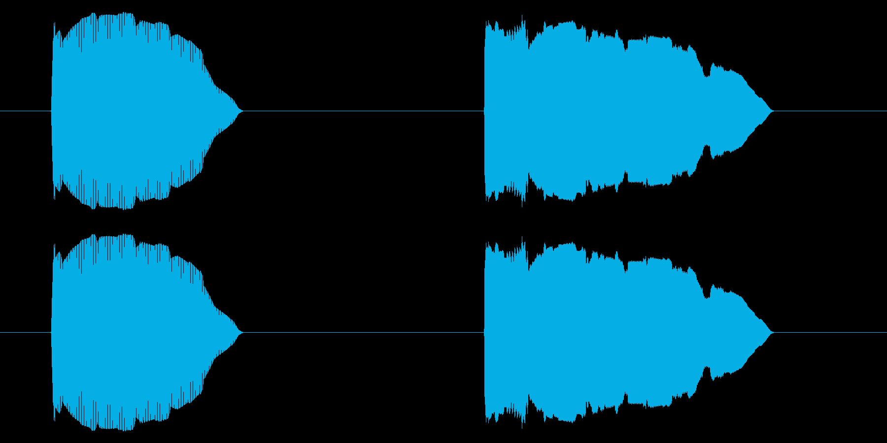 SNES レース01-11(カウントダウの再生済みの波形