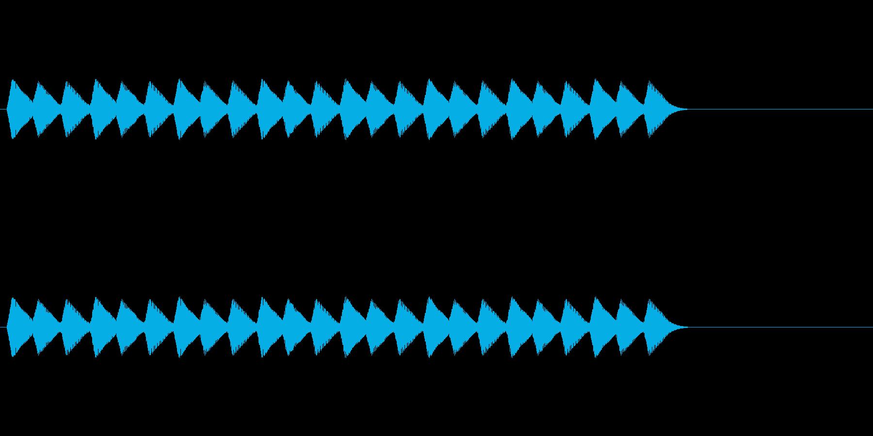 【ショートブリッジ08-2】の再生済みの波形