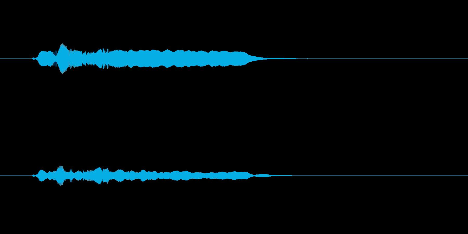 優しい笛の音(切ない、風景)の再生済みの波形
