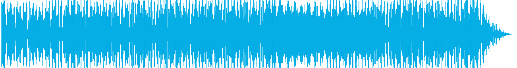 ポジティブで力強いイメージのエレクトロ…の再生済みの波形