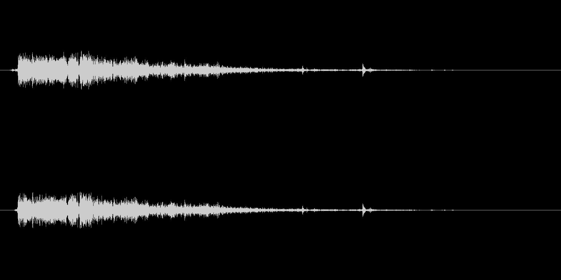 銃の音 (7) の未再生の波形