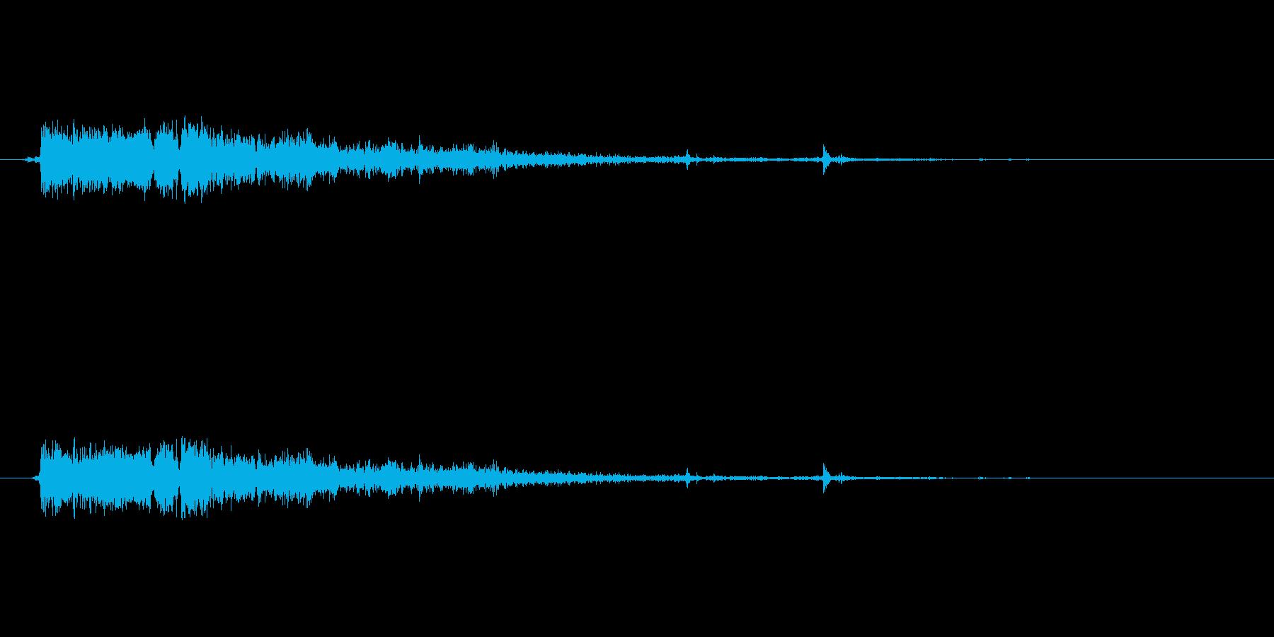 銃の音 (7) の再生済みの波形