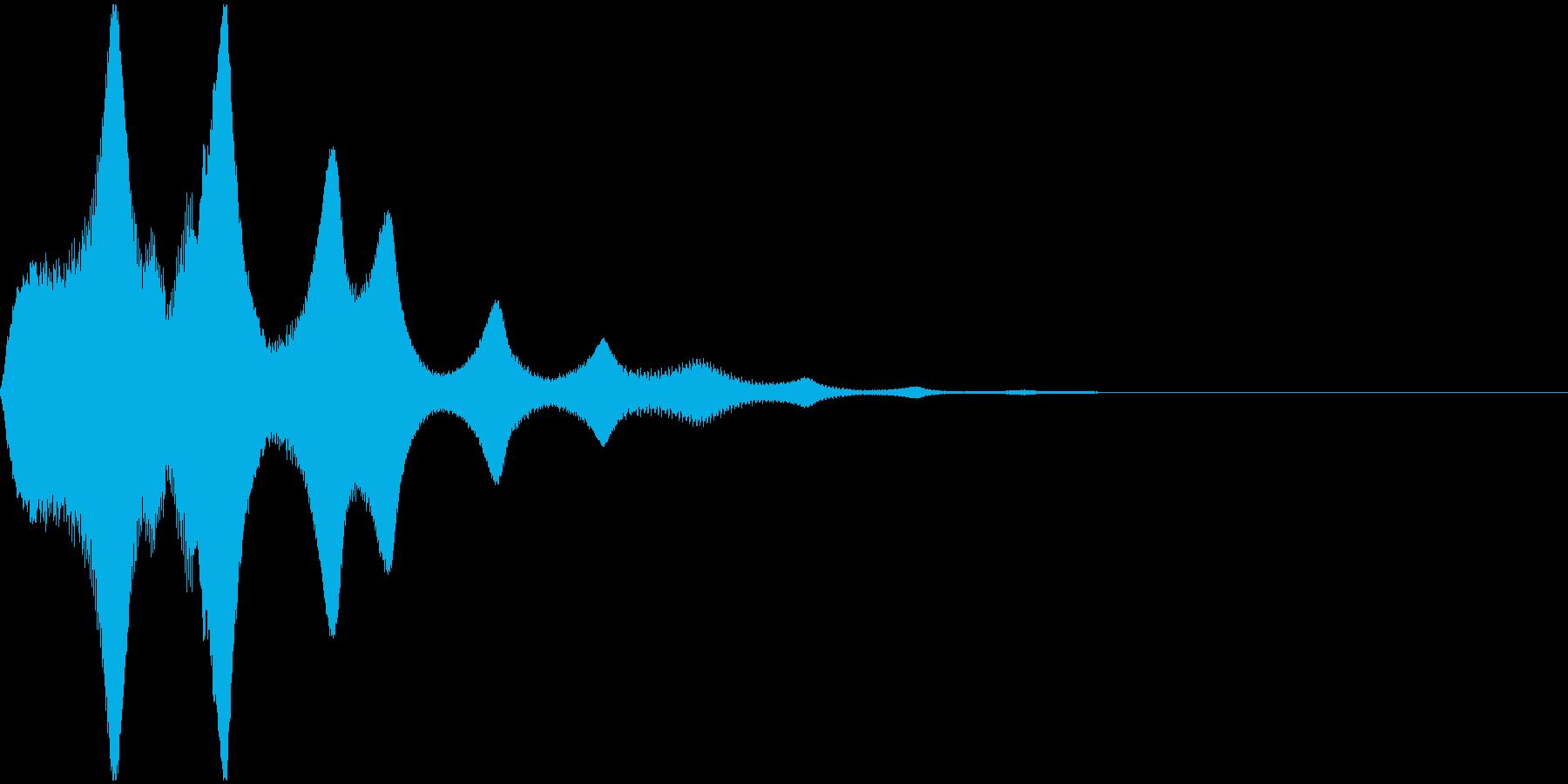 プゥオーンの再生済みの波形