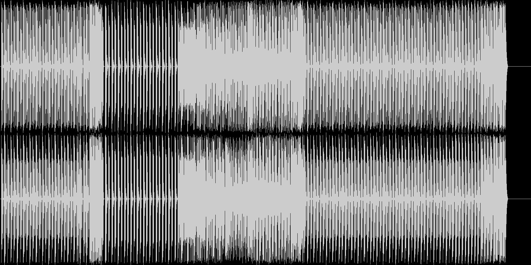 EDM/ドラム・ビートトラック#5の未再生の波形