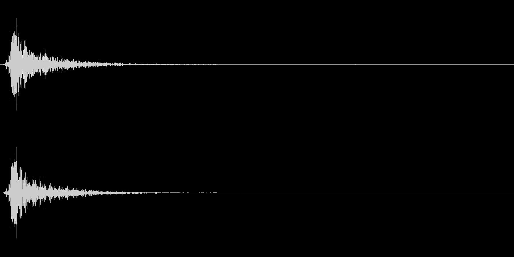 バブル01(ポワン)元の未再生の波形