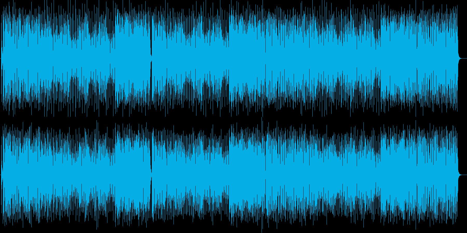軽快でごきげんなストリングスポップの再生済みの波形