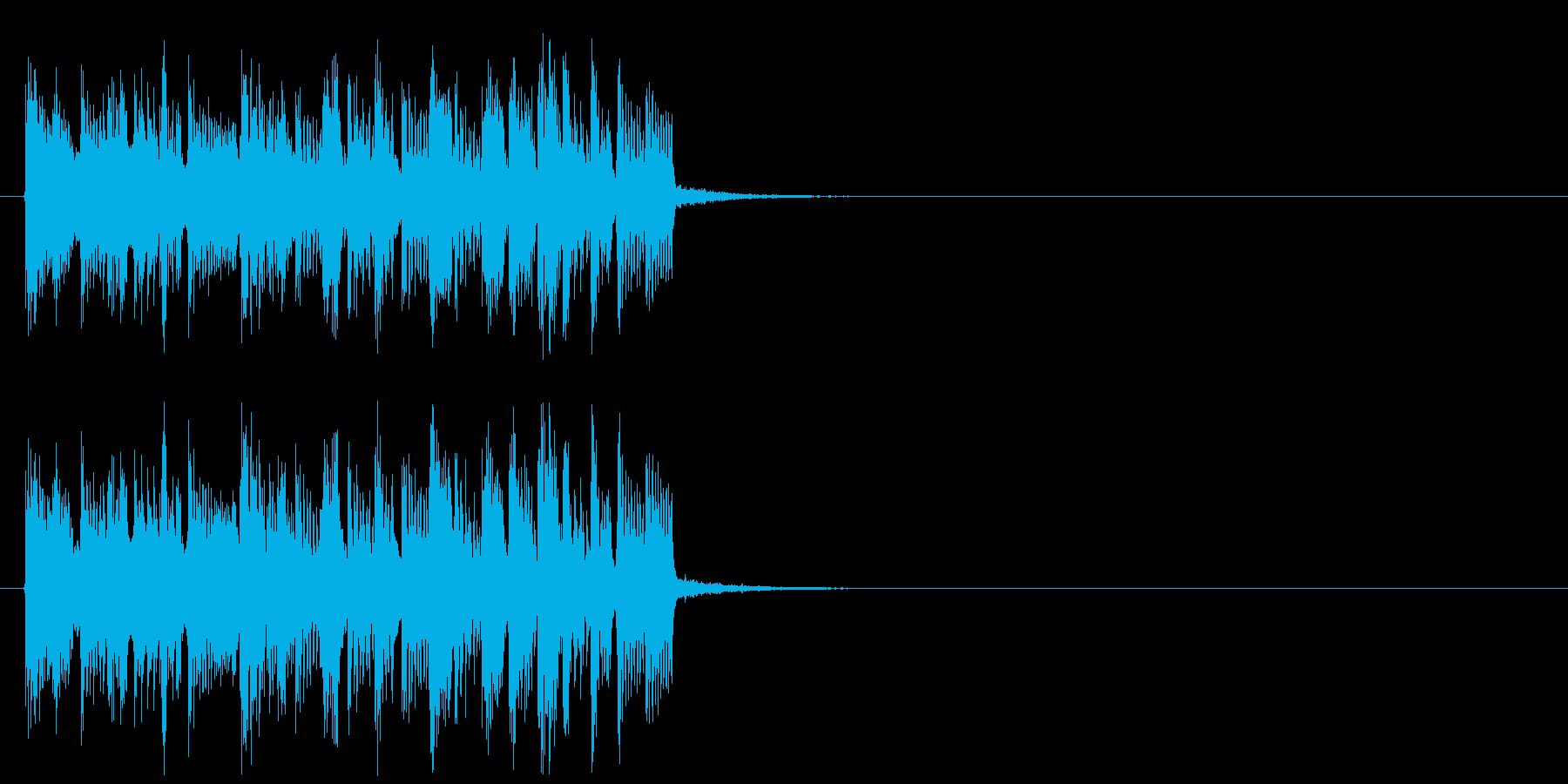 クイズ 前進 はつらつ 追跡 挑戦の再生済みの波形