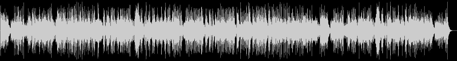 可憐で軽やかなクラシカルピアノサウンドの未再生の波形