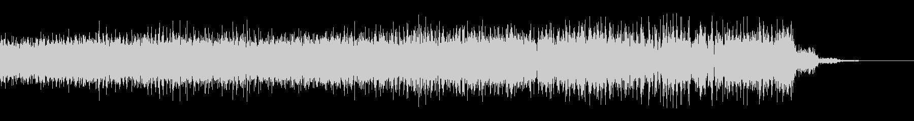 ビリビリとしびれるようなチャージ音の未再生の波形
