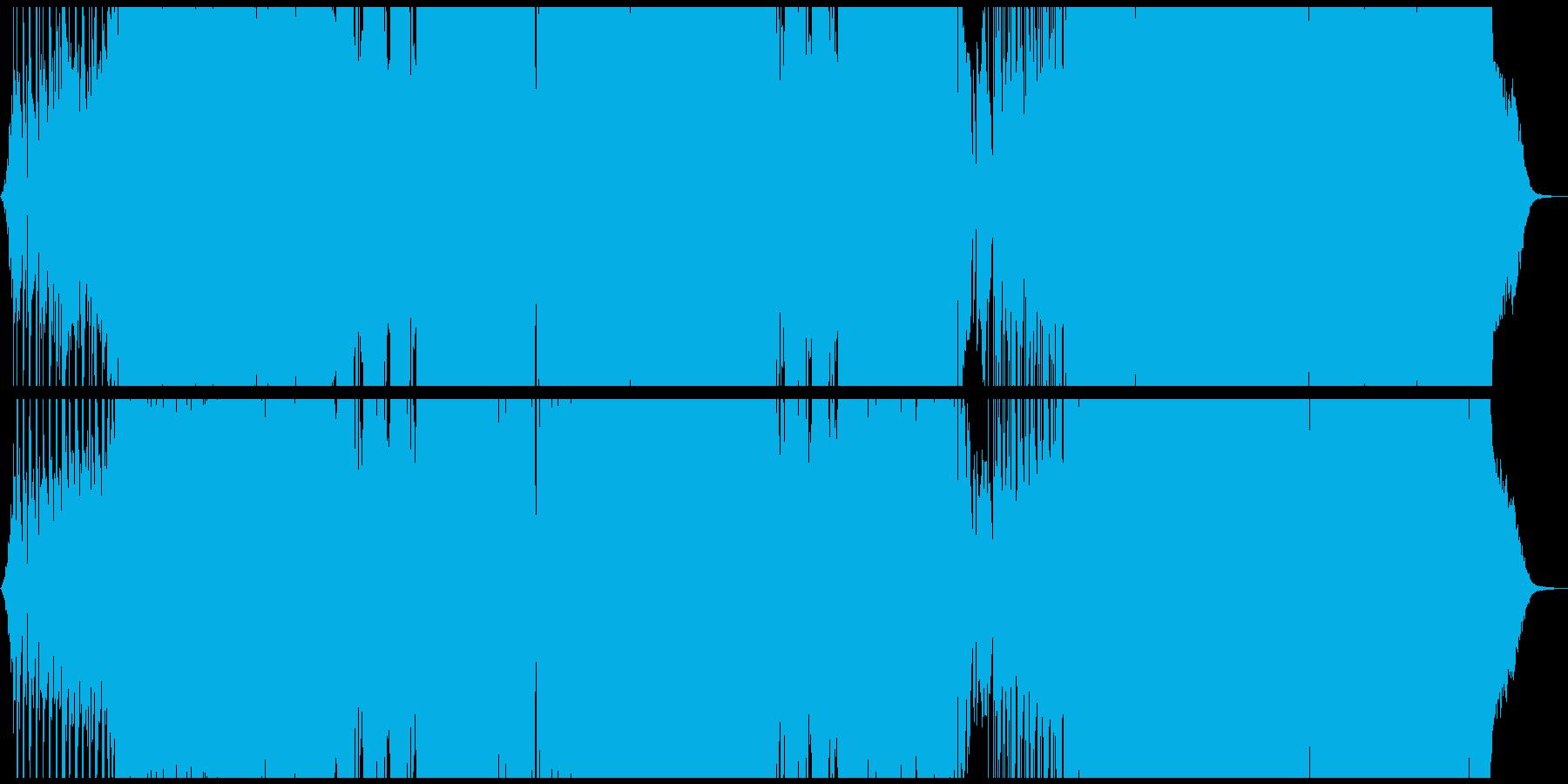 キラキラとしたシンセのキャッチーなEDMの再生済みの波形