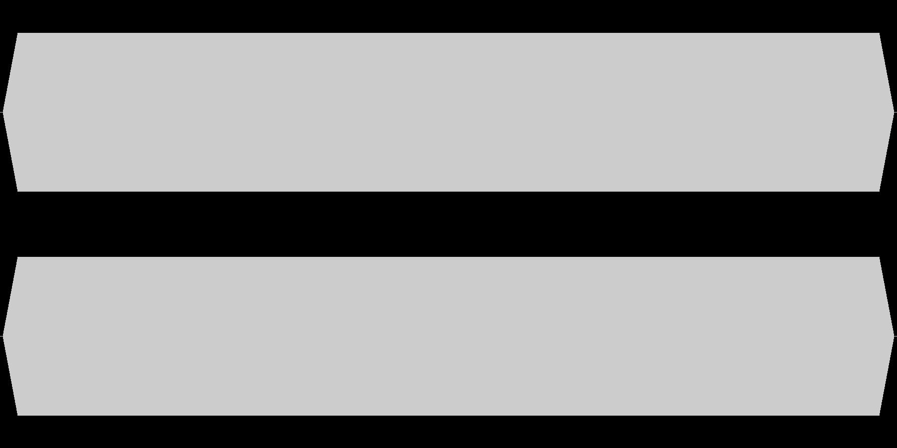 モスキート音 19kHzの未再生の波形