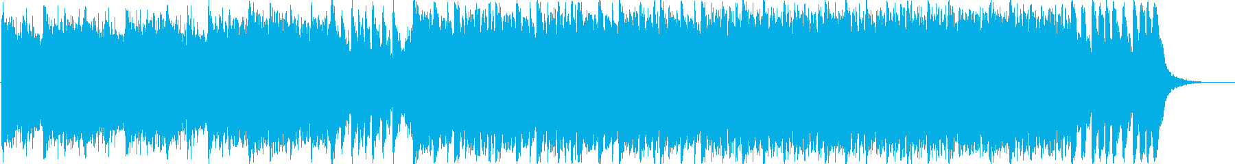 壮大なフルオーケストラBGMの再生済みの波形