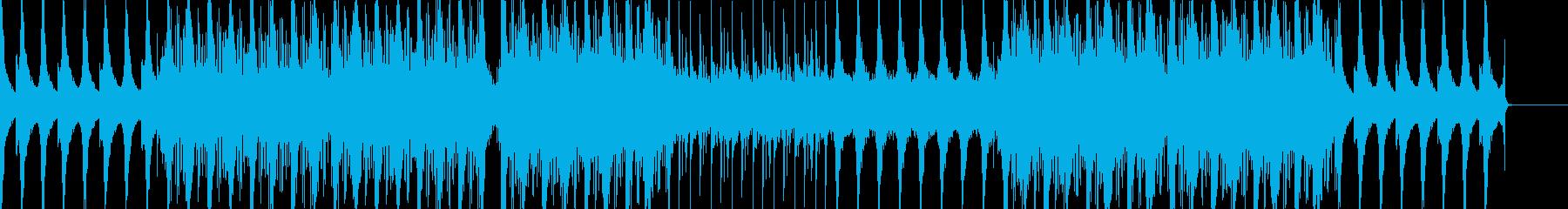 不思議な雰囲気が特徴の曲ですの再生済みの波形