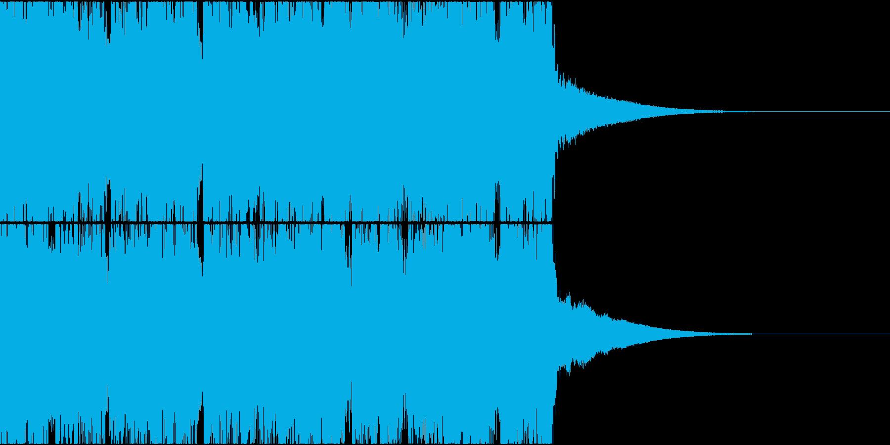 和楽器を使ったインダストリアル・メタルの再生済みの波形