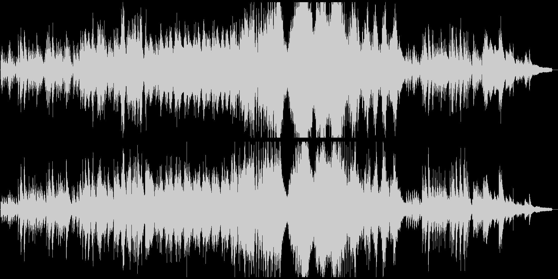 クラシカルな雰囲気の悲しげなピアノソロの未再生の波形