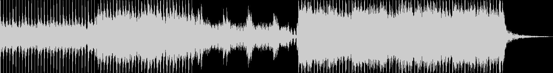 ロック、ポップ、デジタル、ヴォーカルの未再生の波形