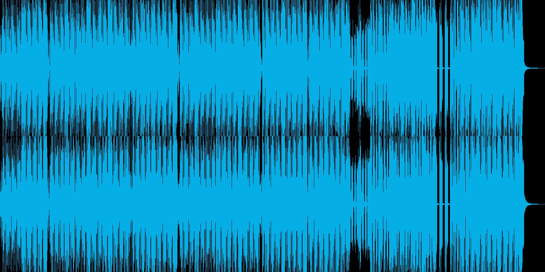 派手でマッスルなヒップホップの再生済みの波形