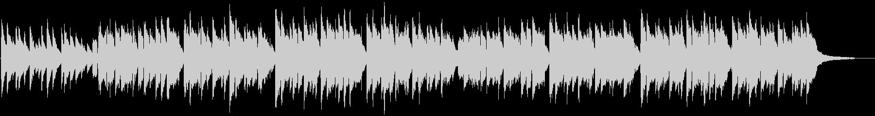 「蛍の光」 ピアノ伴奏での独唱の未再生の波形