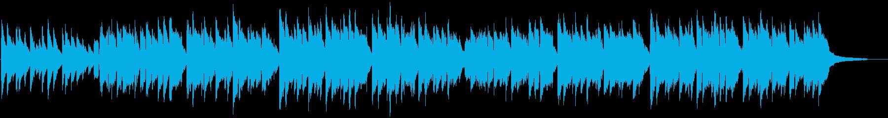 「蛍の光」 ピアノ伴奏での独唱の再生済みの波形