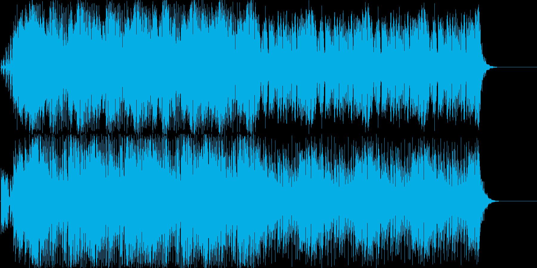 デジタルアジアトラック BGMバージョンの再生済みの波形