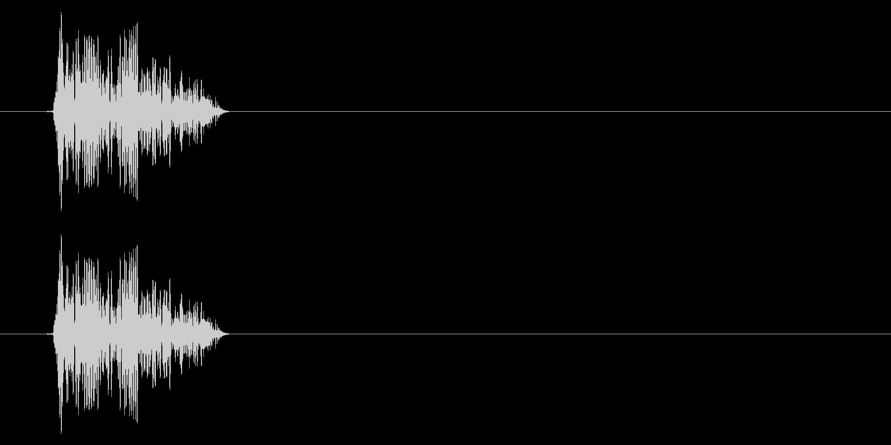 GEN-格闘01-12(倒れる)の未再生の波形