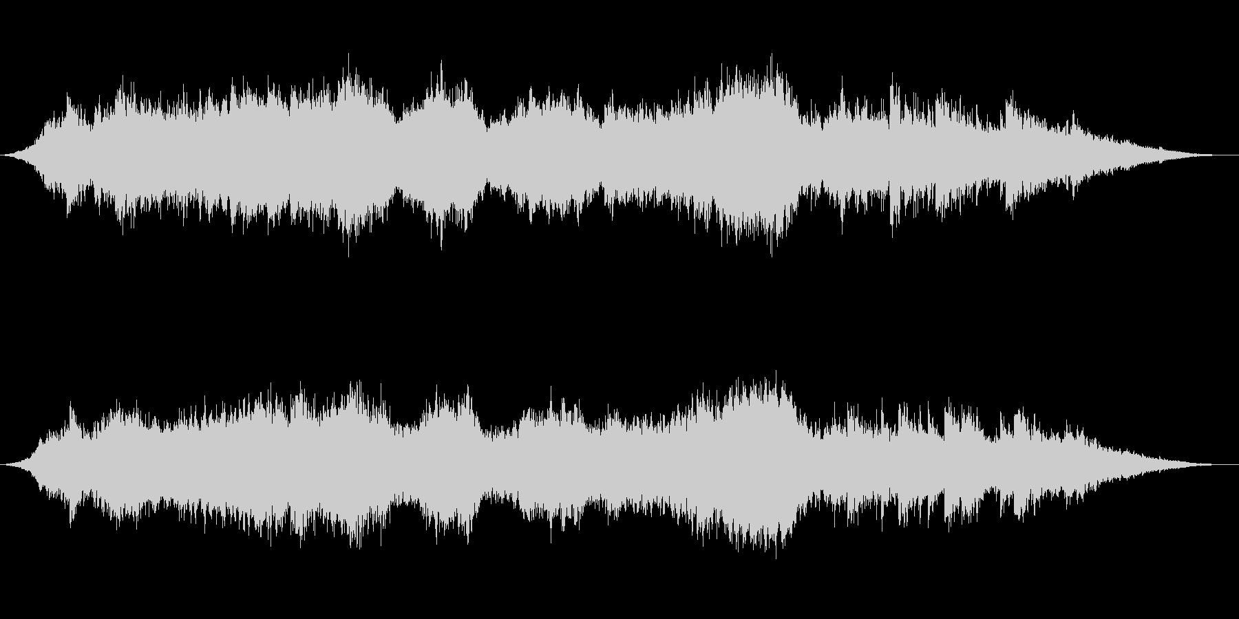 神秘的な雰囲気のアンビエント背景音11の未再生の波形