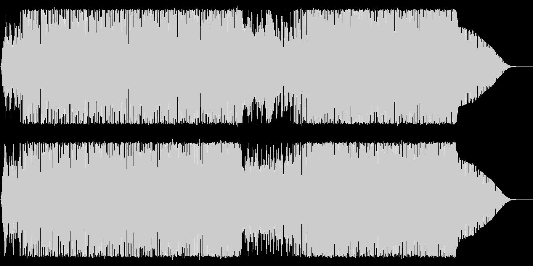 Fusion系ハードボイルド映像BGM等の未再生の波形
