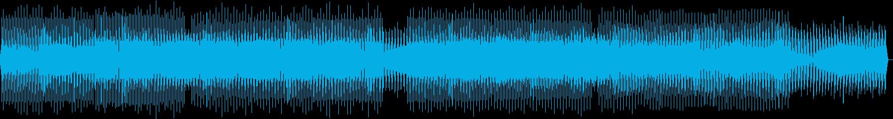 トライバルなテックハウスの再生済みの波形