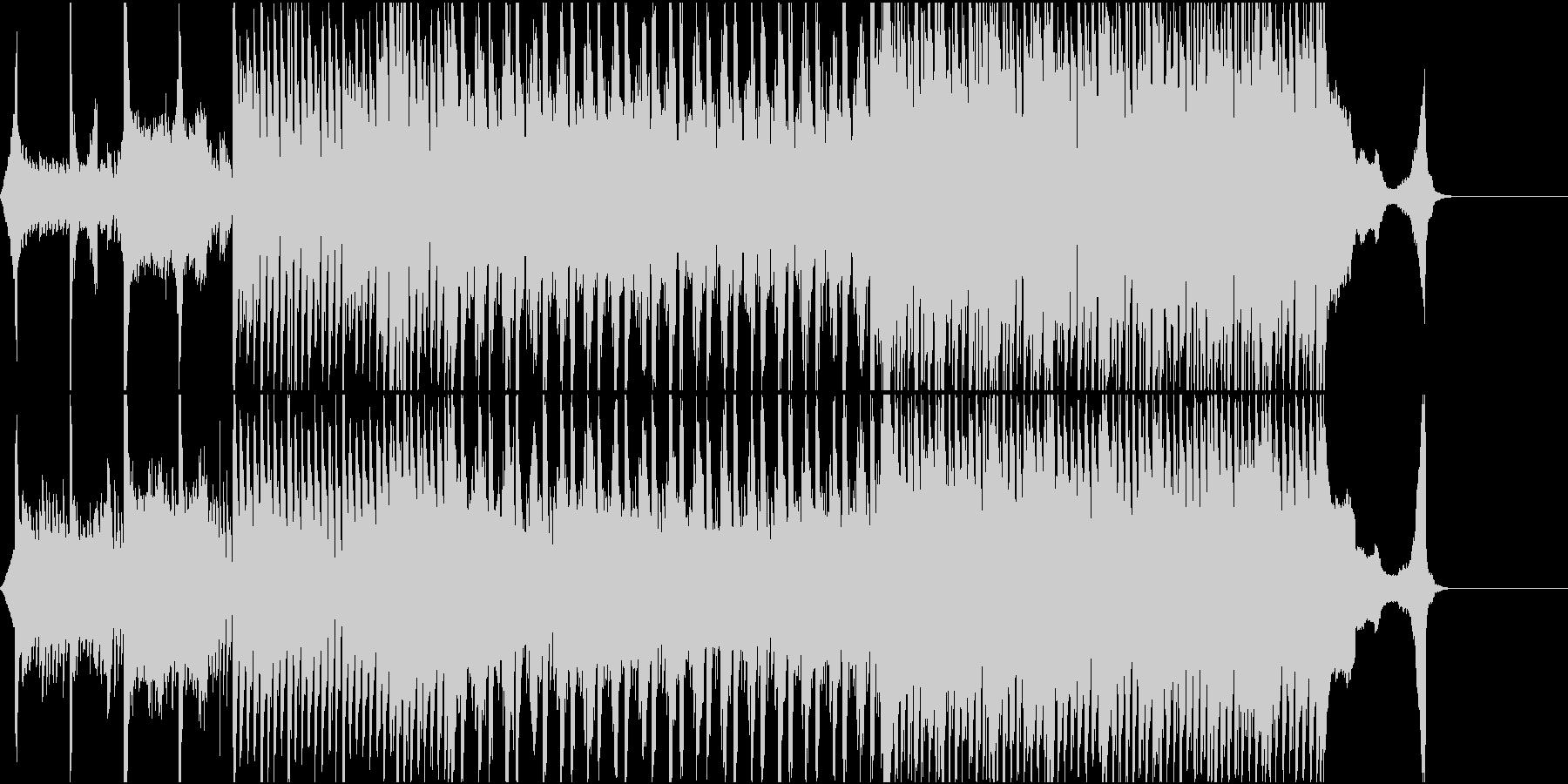 感動的でおしゃれな工場系VP用曲の未再生の波形
