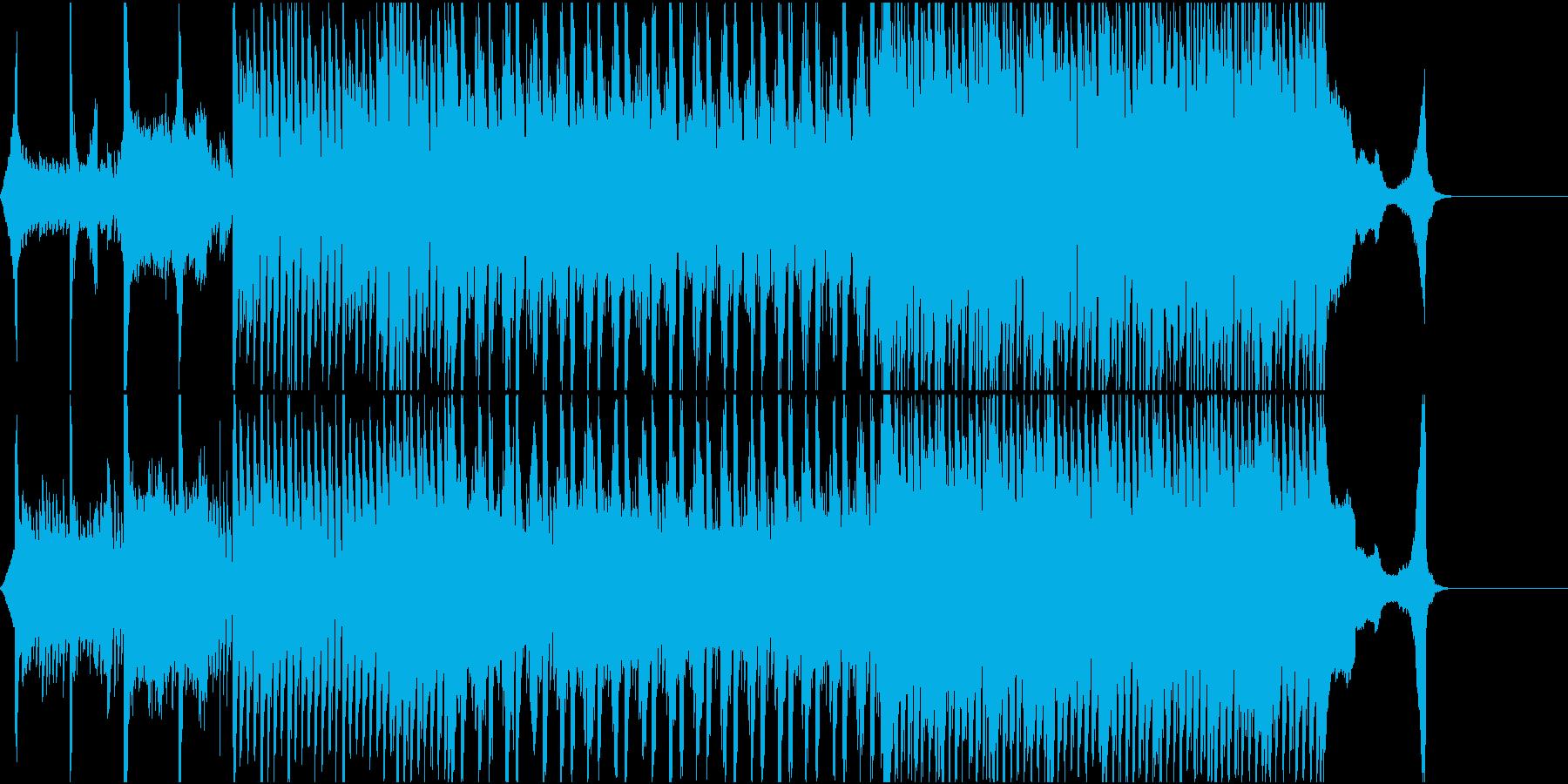 感動的でおしゃれな工場系VP用曲の再生済みの波形