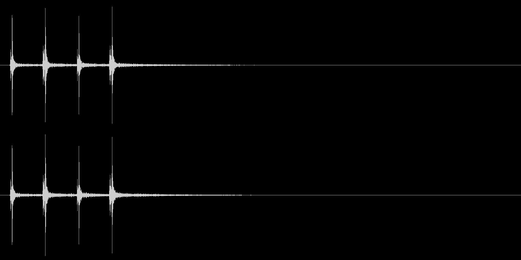 【ハサミ01-5】の未再生の波形