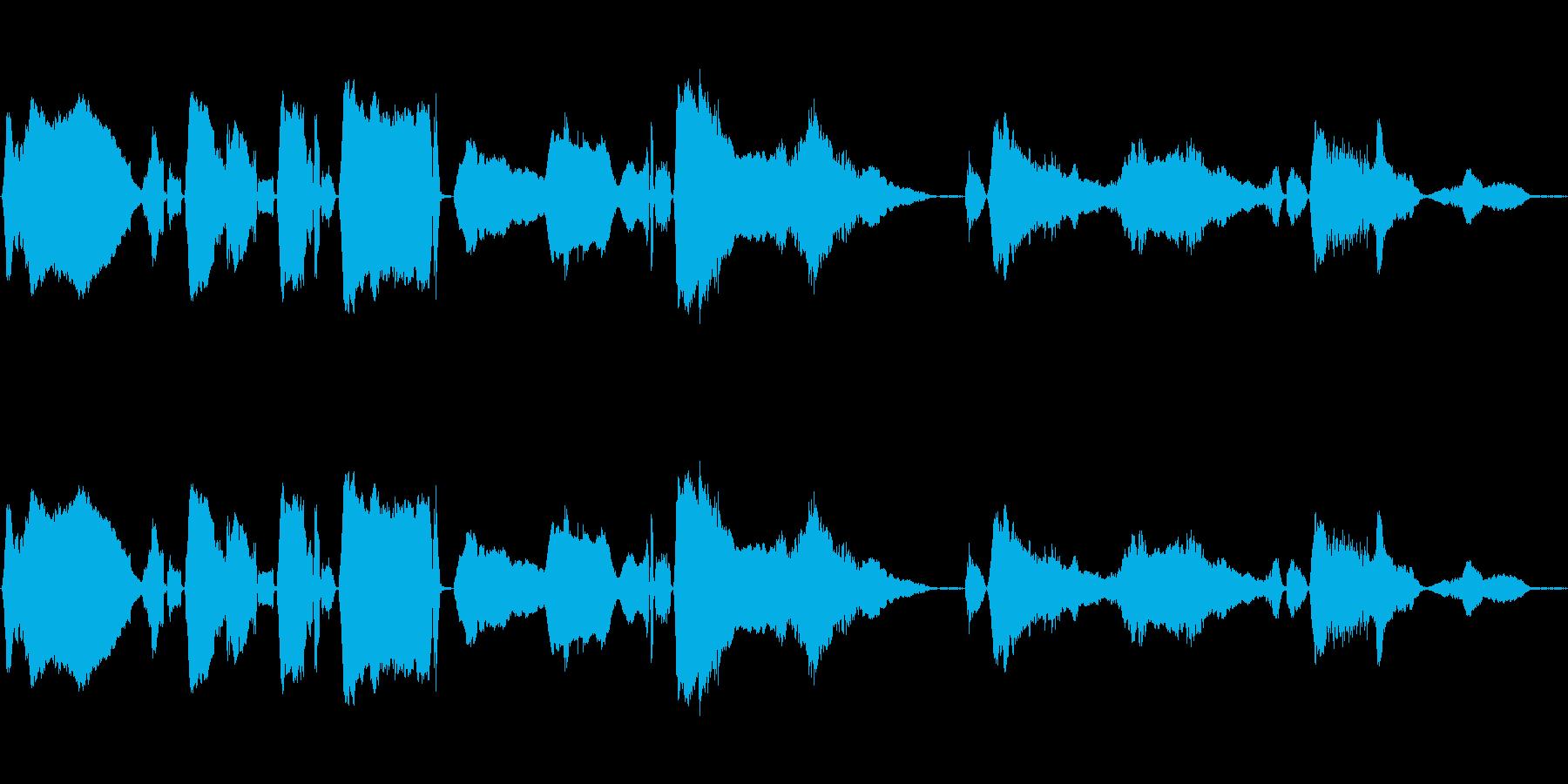 うわーんの再生済みの波形
