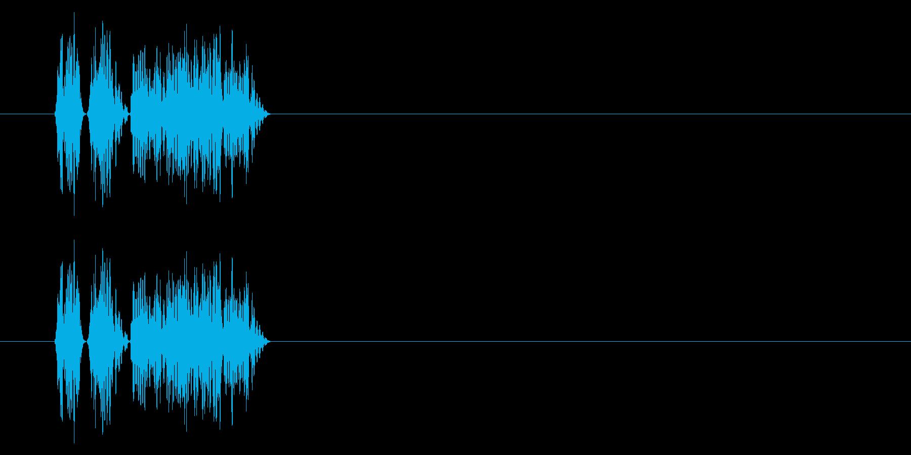 SNES 格闘06-06(ヒット)の再生済みの波形