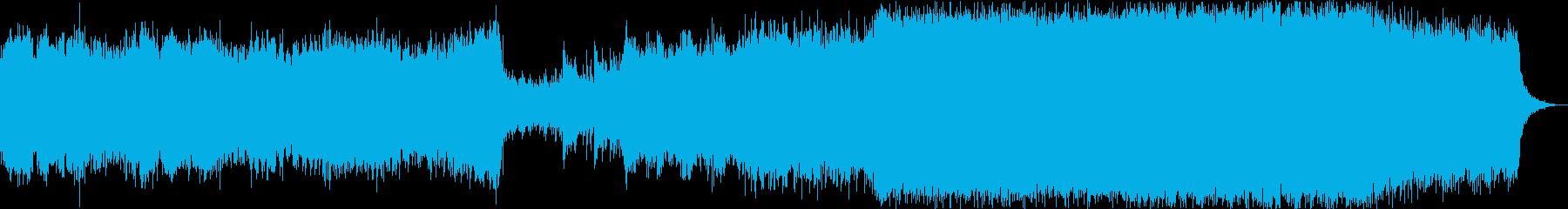 ロックオーケストラ 戦いの再生済みの波形