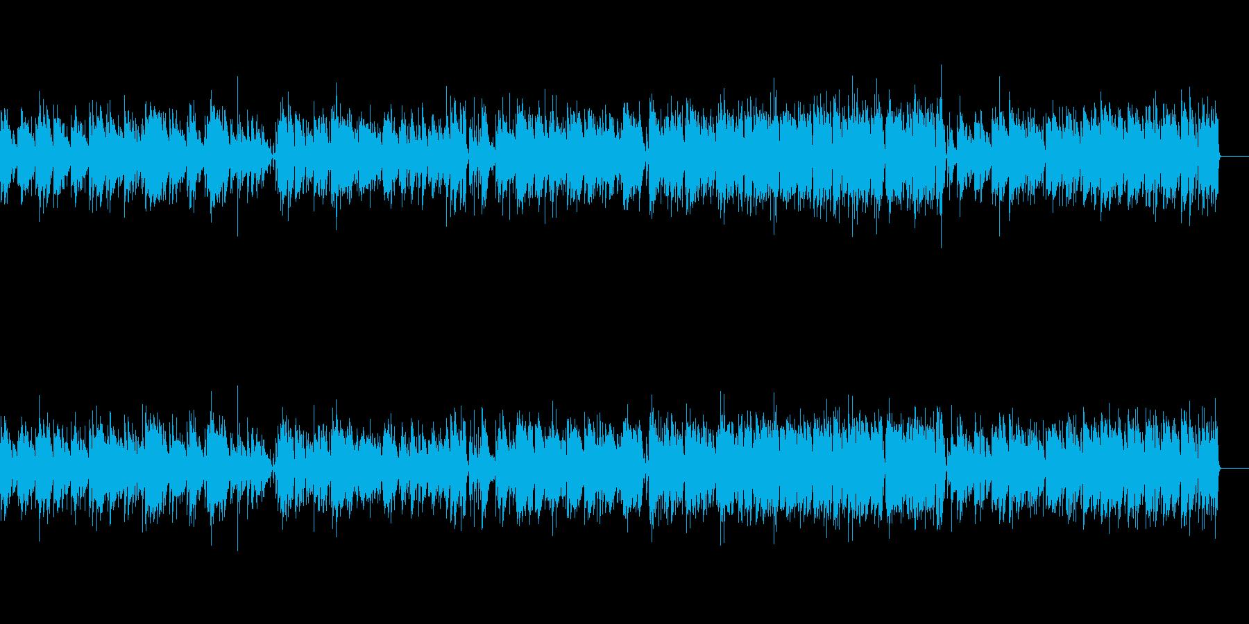 ヴィヴァルディのボサノバ風アレンジの再生済みの波形