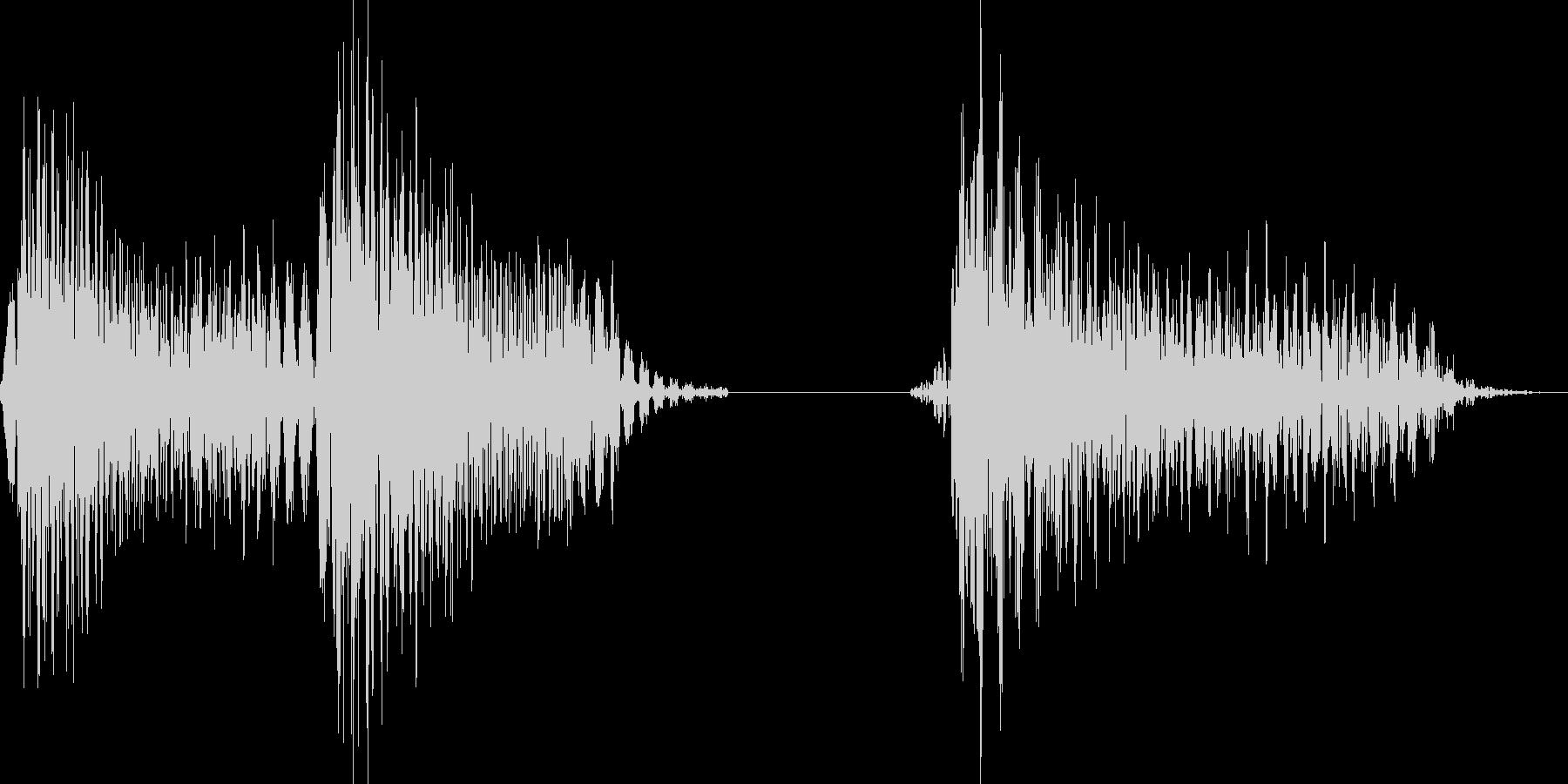 パパッポ(お知らせ等)の未再生の波形