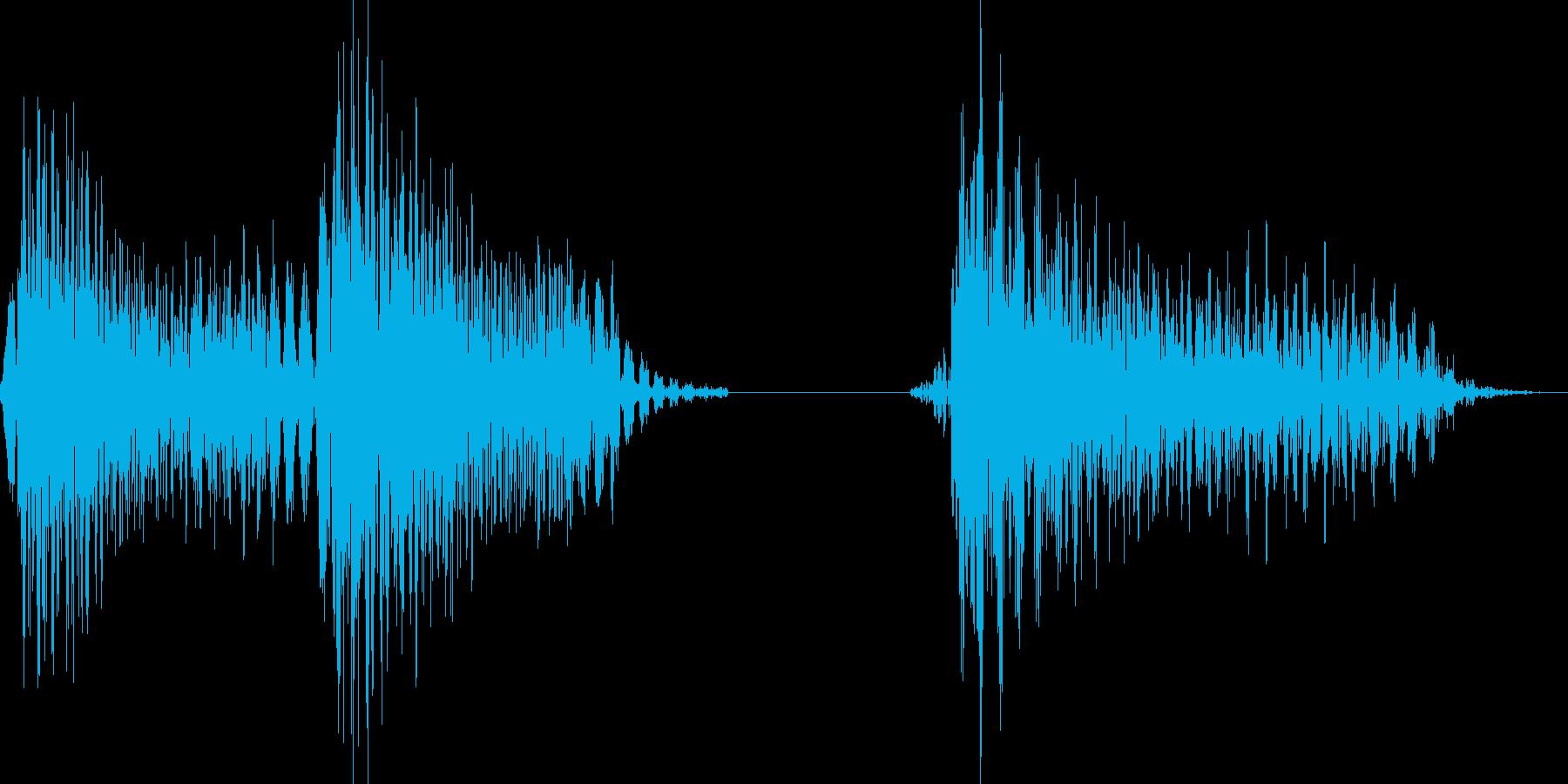 パパッポ(お知らせ等)の再生済みの波形