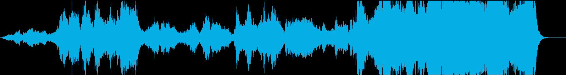 ファンタジー映画オーケストラ 草原の騎士の再生済みの波形