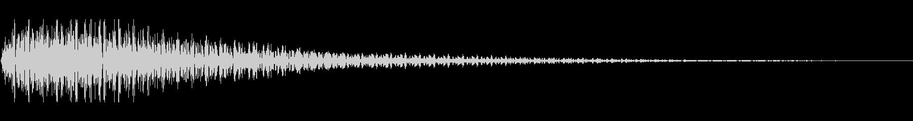 SFの開閉音3の未再生の波形