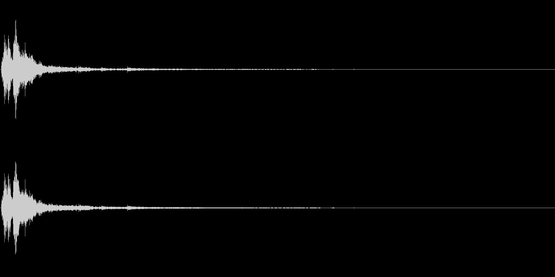 「シャリーン」ツリーベルのリバーブ入りの未再生の波形