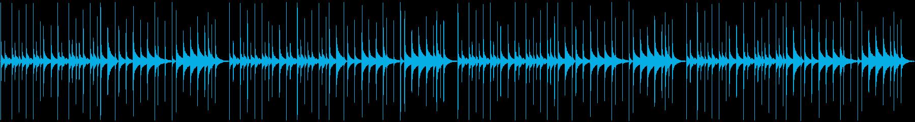 【コミカルなシーン用パーカッション】の再生済みの波形