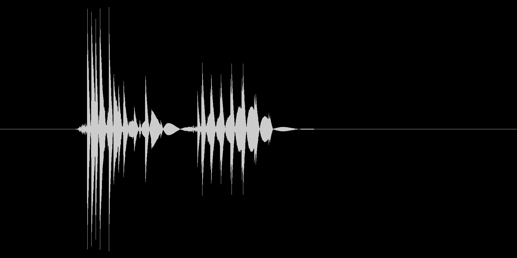 ゲーム(ファミコン風)爆発音_048の未再生の波形