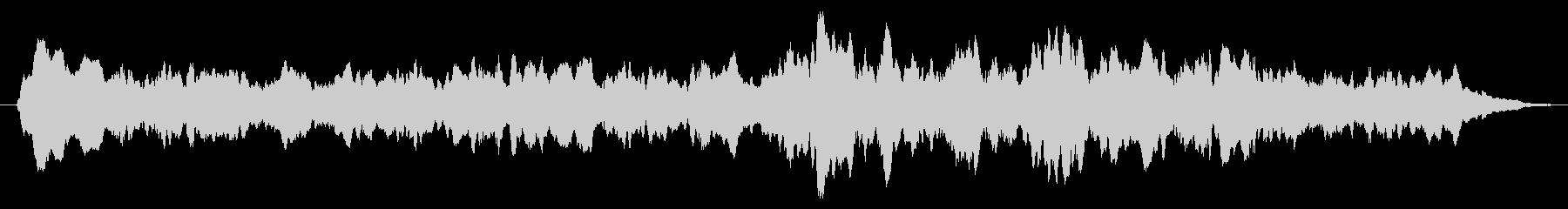 凱旋シーンを表現した悠揚なヒロイック楽…の未再生の波形