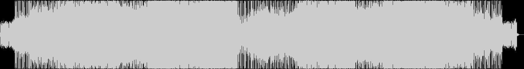 ブリティッシュロック。トレモロギターの未再生の波形