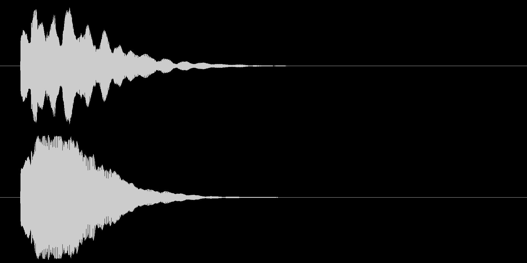 きらりん_表示系の未再生の波形