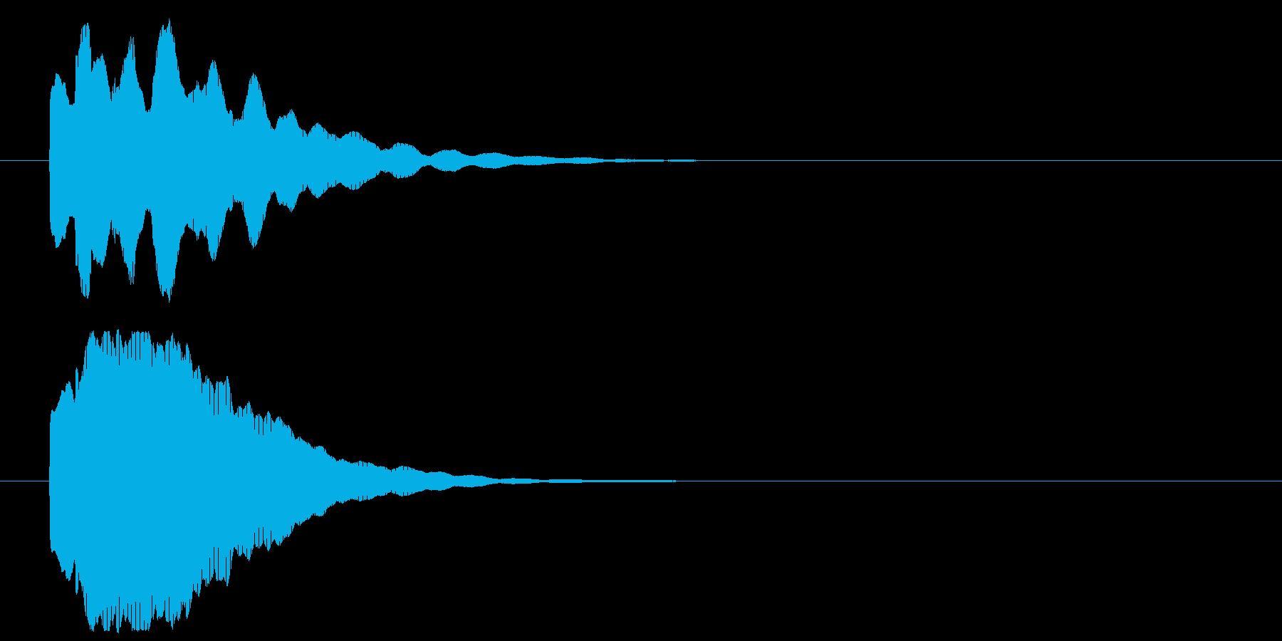 きらりん_表示系の再生済みの波形
